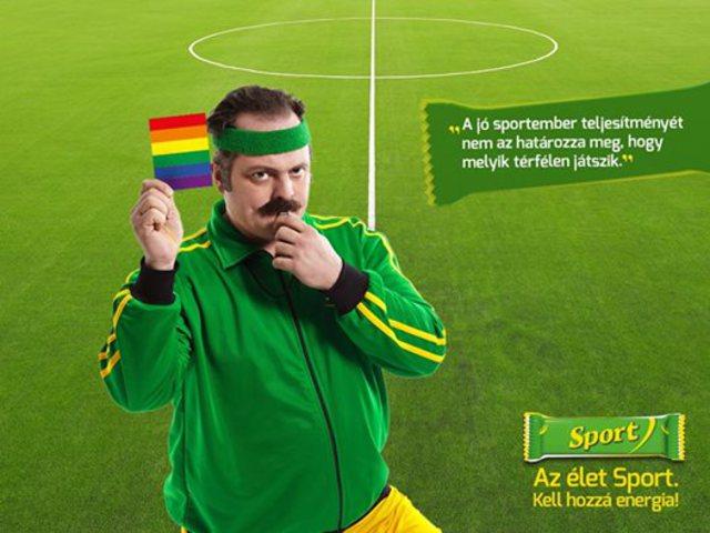Fehérholló: Egy kedves sportszelet reklám!