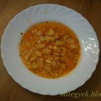 Reszelt tészta leves