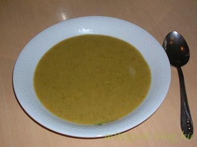 Brokkoli krémleves (tejmentes, tejfehérje mentes, laktózmentes, tojásmentes, szójamentes, gluténmentes)