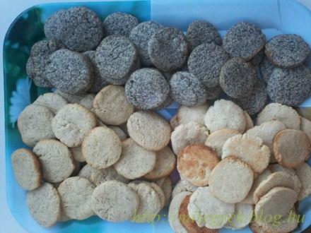 Omlós keksz (tejmentes, tejfehérje mentes, laktózmentes, szójamentes)