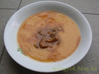 Sárgaborsó főzelék csülökpörkölttel (tejmentes, tejfehérje mentes, laktózmentes, szójamentes, gluténmentes, tojásmentes)