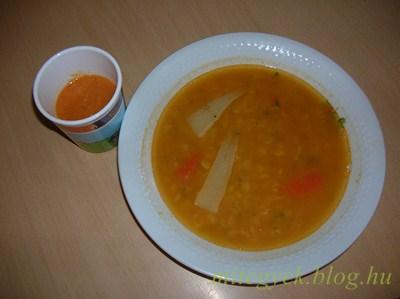 Sárgaborsó leves (tejmentes, tejfehérje mentes, laktózmentes, szójamentes, gluténmentes, tojásmentes)