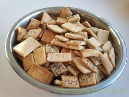 Sós keksz (tejmentes, tejfehérje mentes, laktózmentes, szójamentes, tojásmentes)