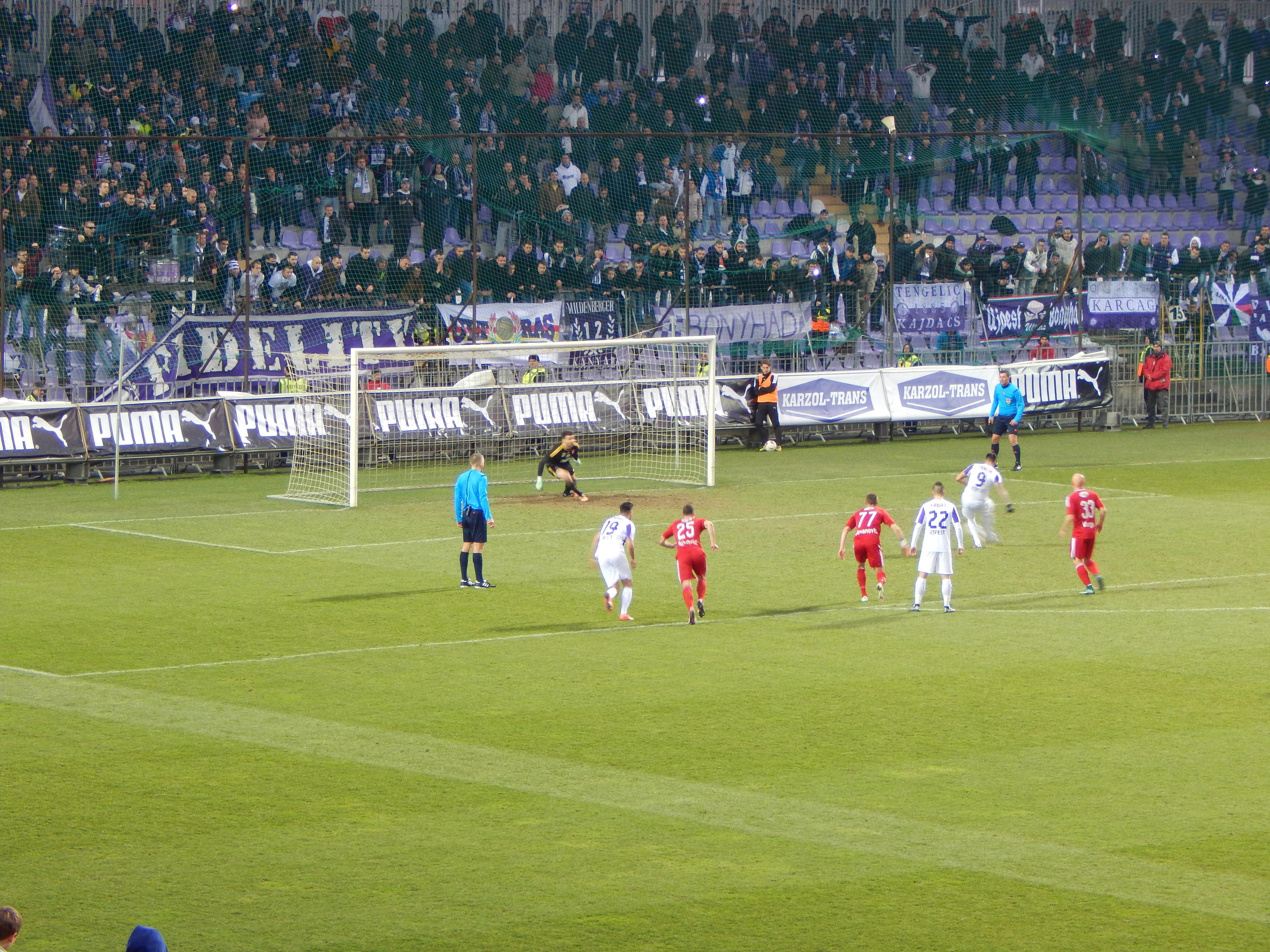 Mindenhol blog - mndnhl.blog.hu - Újpest-Debrecen 1-1