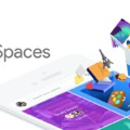Google Spaces - terek, hely
