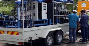 mobil vízfertotlenítő - ivóvízkezelés