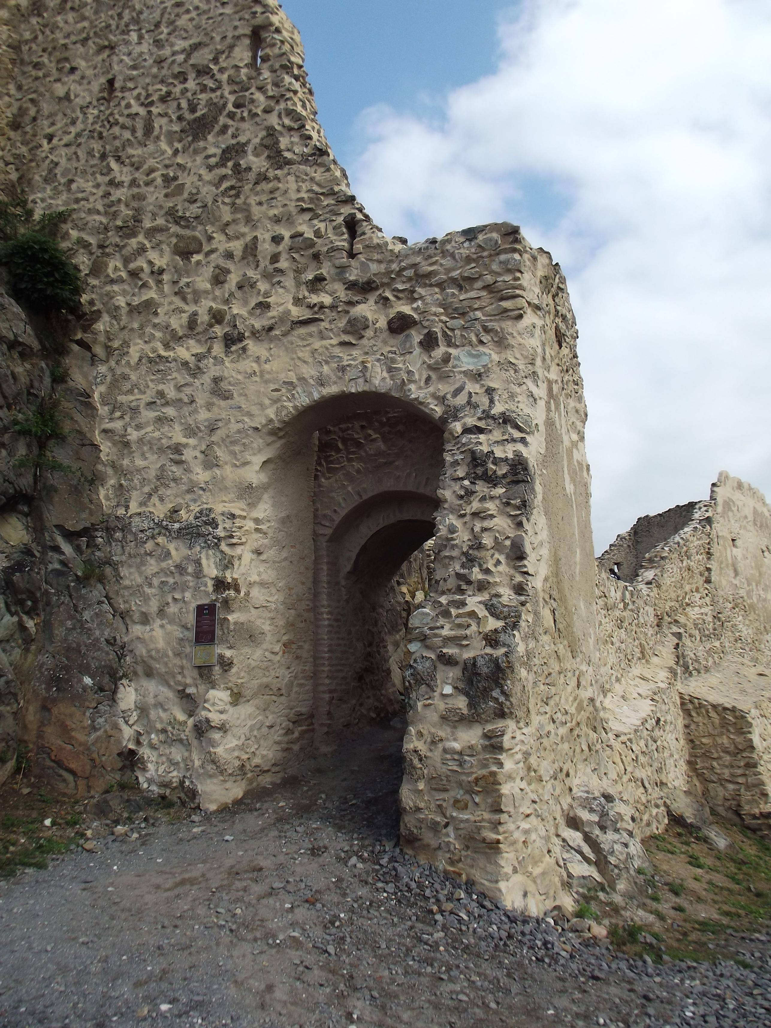 A felső vár kapuja