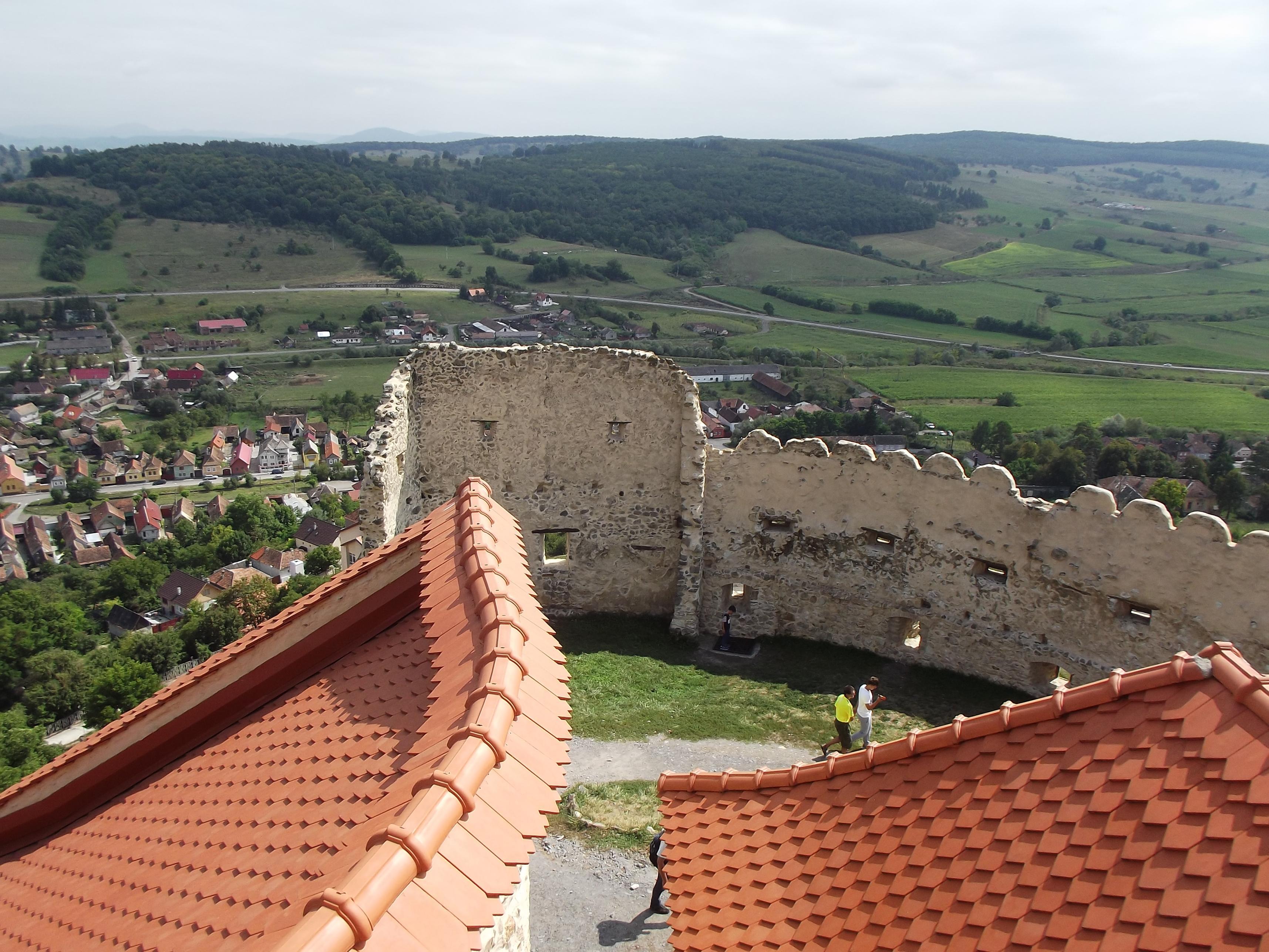 A Szék tornya megmaradt falai