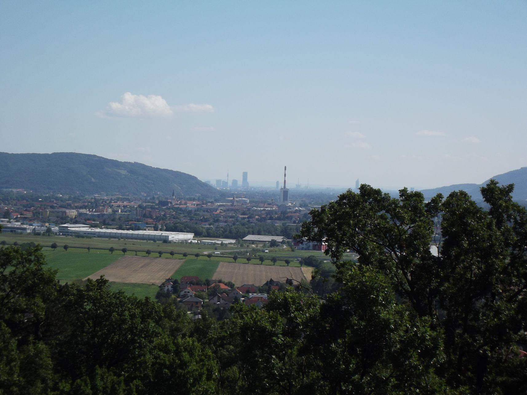 Bécs a madár show nézőteréről