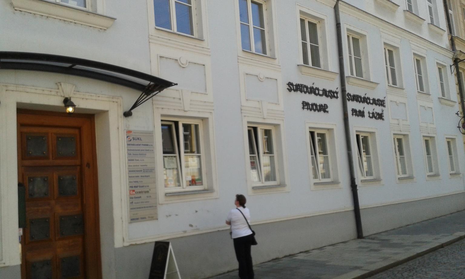 Svatováclavsky Pivovar épülete