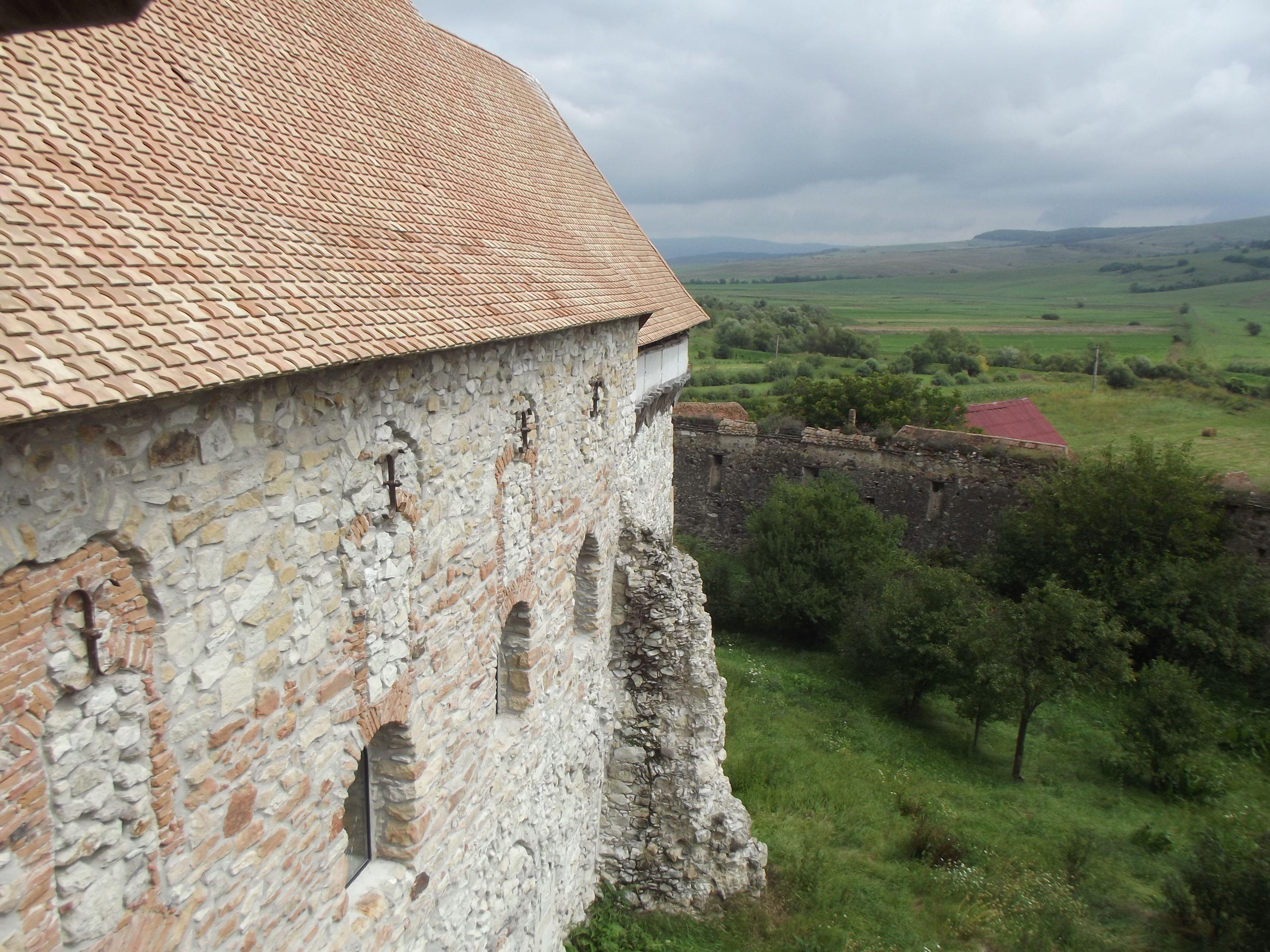Homoróddaróc, a templom új tetőt kapott