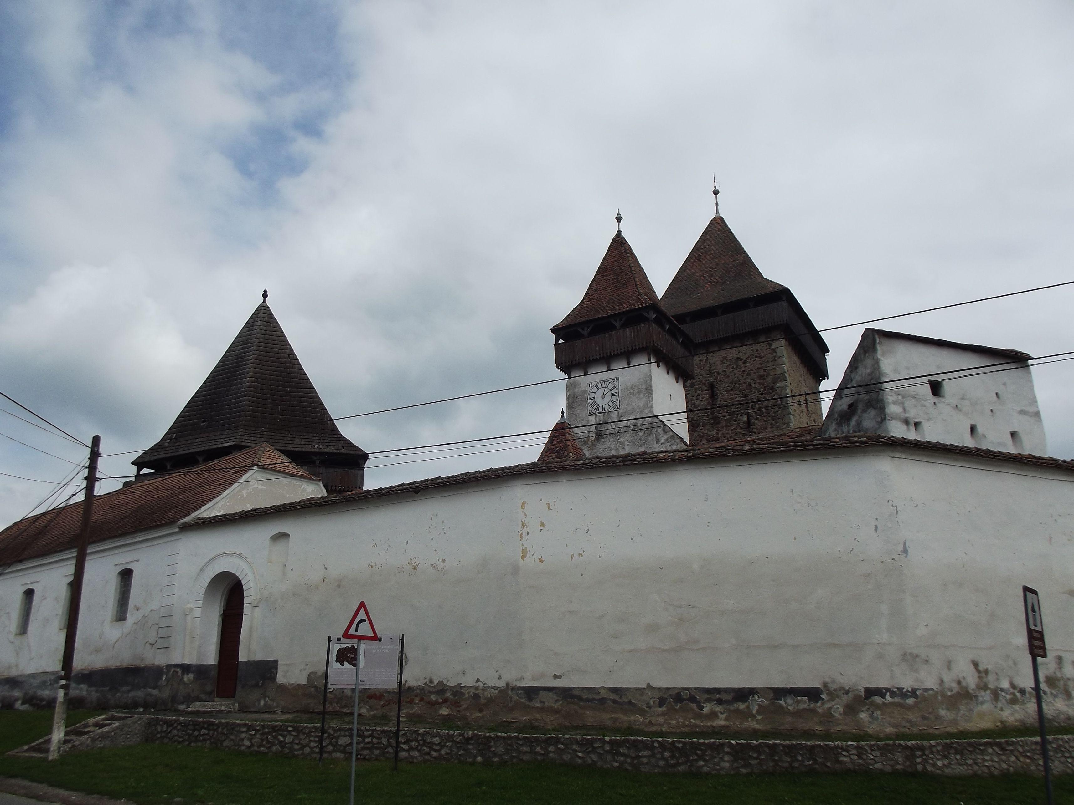 Homoród, templomvár