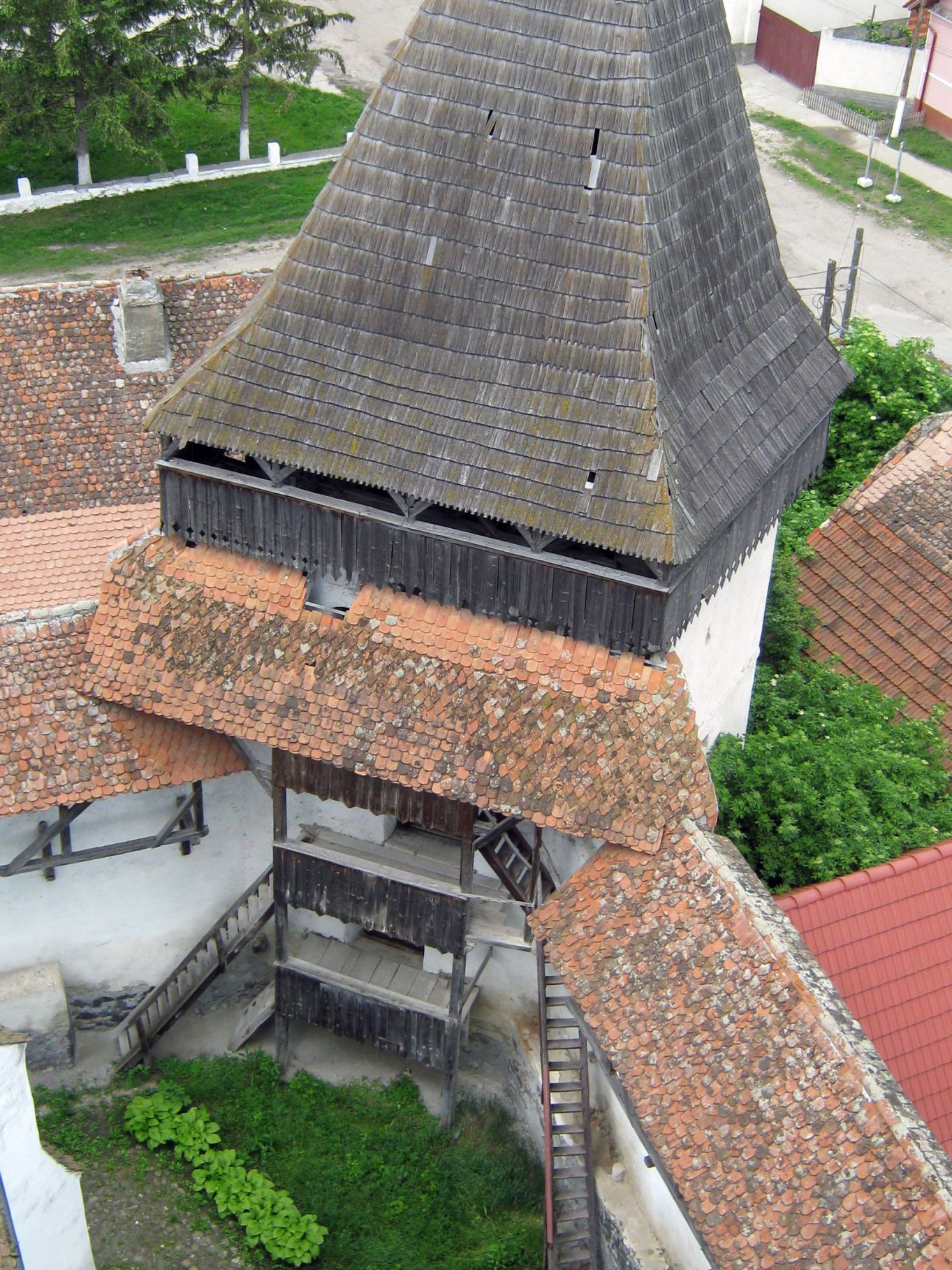 Homoród, templomvár (forrás: wikipedia.org)