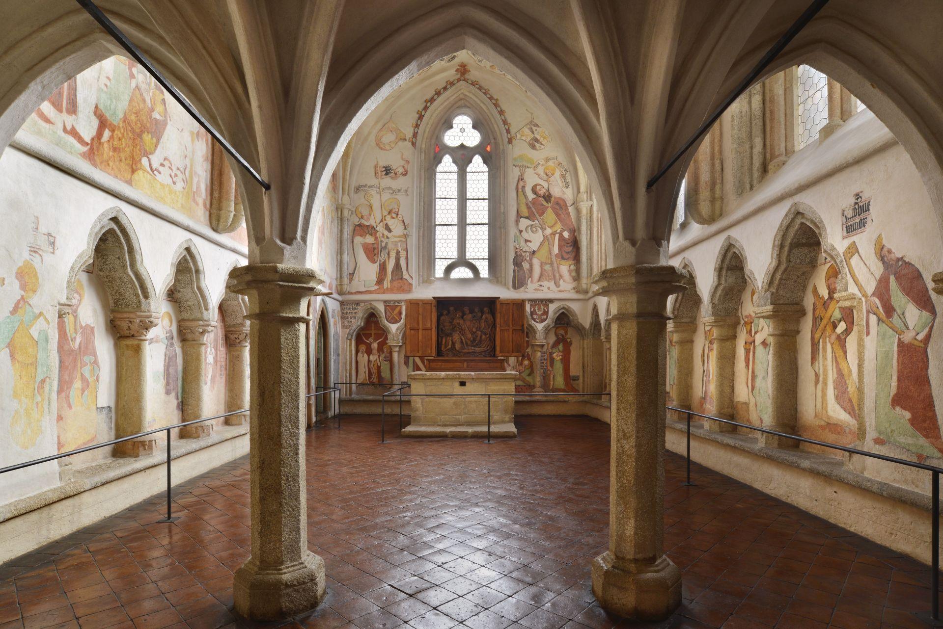 Kápolna (Forrás: www.hrad-zvikov.eu)