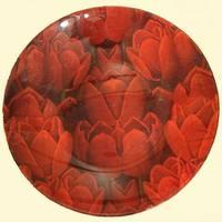 Tulipános tányér