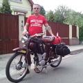 Több mint 2700 km-es túra Monacóba egy 1963-as Simson moped nyergében