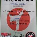 Karate tehetségünk - óriási teljesítmény!