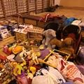 Adománygyűjtés és az adományok osztása volt iskolánkban