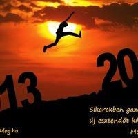 Boldog új esztendőt!