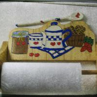 Konyhai papírtörlő tartó
