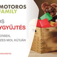 A Motoros Family adományokat gyűjt