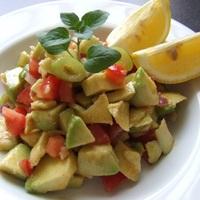 Egyszerű avokádó salsa