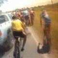 Tucatnyi kerékpárost gázolt el egy Chevrolet
