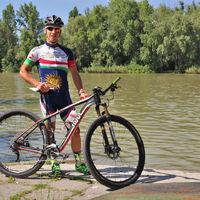 Íme mountain bike olimpikonunk bringája!