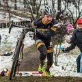 Sáros küzdelem és remek hangulat kőbányán a cyclocross OB-n!