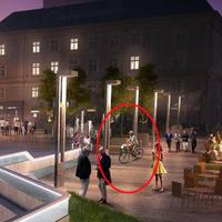 A bringásokra vajon gondolnak a Nyugati tér felújításakor?