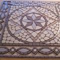 Mozaik egy pesti bérházba