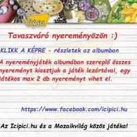 Icipici tavaszváró nyereményözön! :)