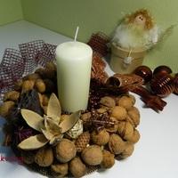 Késő őszi asztali dísz
