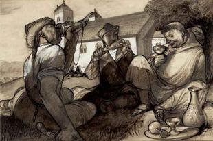 Emlékszik még László Gyula 50 rajz a honfoglalókról könyvének illusztrációira?