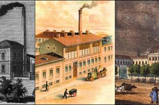 5 régi budapesti gyár, melyet mára már elnyelt a föld