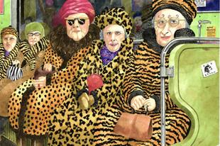 Bámulatos módon ábrázolja a budapesti életet az itt élő brit művész