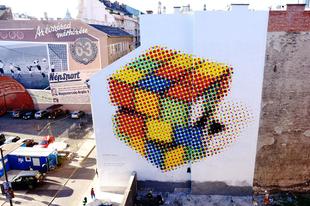 Nézegessen vagány módon kifestett budapesti tűzfalakat!
