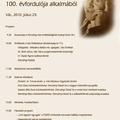 Megemlékezés Dercsényi Dezső születésének 100. évfordulója alkalmából