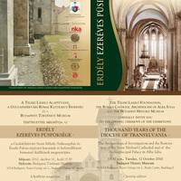 Kiállítás: Erdély ezeréves püspöksége