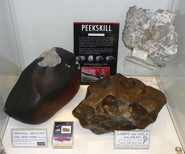 """A """"Chevyvel érkezett vörös meteorit"""", azaz a Peekskill meteorit"""