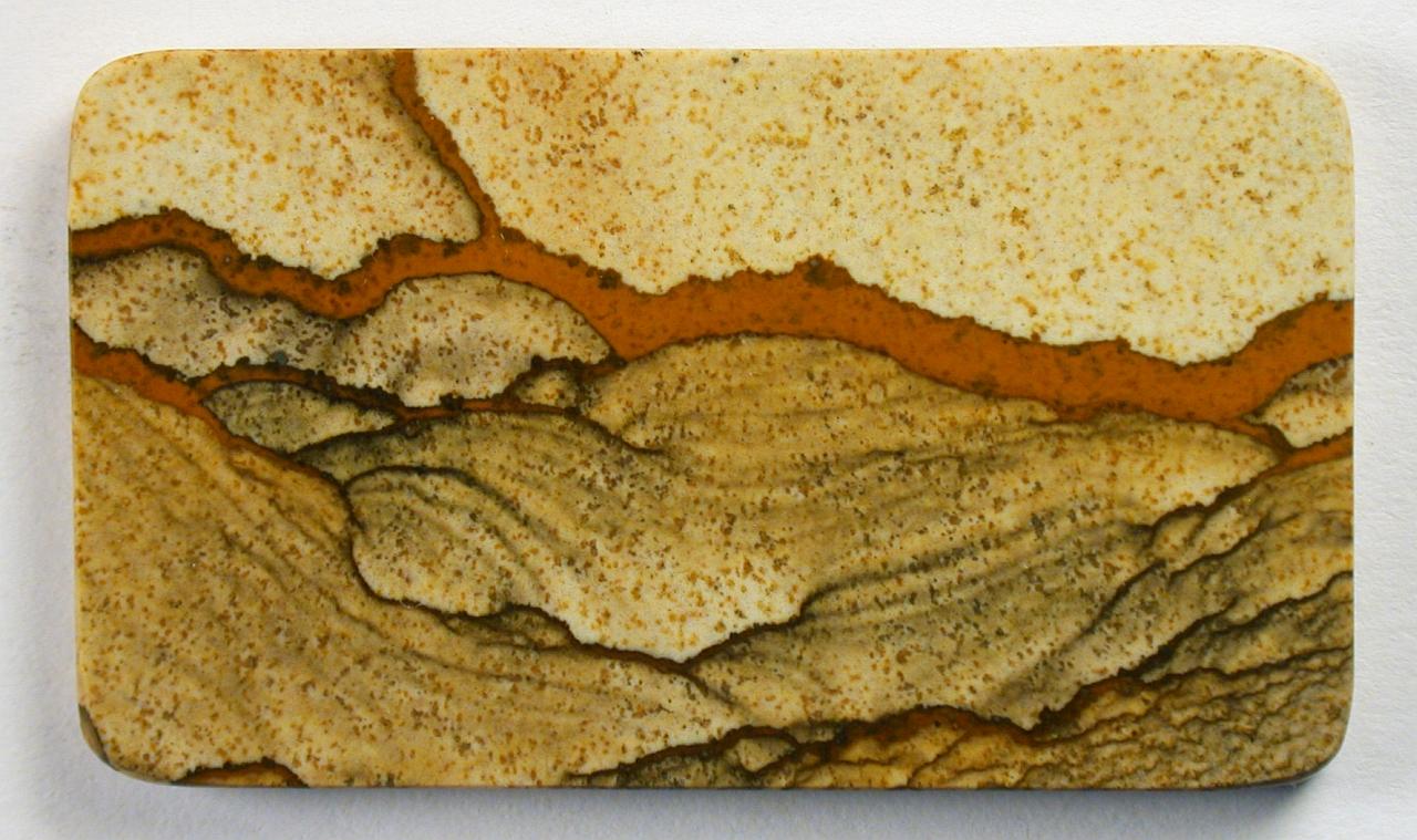 Tájképhomokkő Liesegang-mintázattal a namíbiai Kalahári-sivatagból