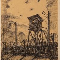 Szöcskelesen a hadifogolytáborban