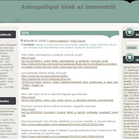 Amit mindig is tudni akartál az antropológiáról