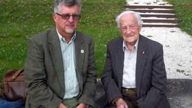 Móczár László 100. születésnapi köszöntése a múzeumban