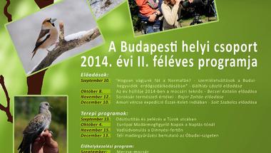 A Magyar Madártani és Természetvédelmi Egyesület előadásai a múzeumban