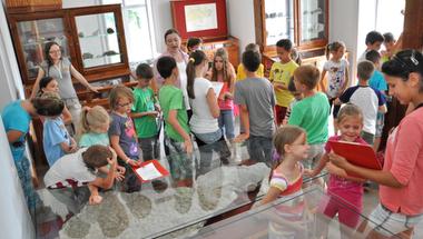 """""""Kaland a múzeumban"""" táborozás az MTM Mátra Múzeumában"""