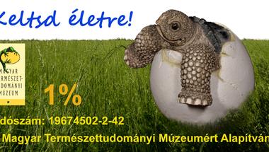 1% - Keltsd életre! - Magyar Természettudományi Múzeumért Alapítvány