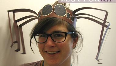 Szeretnél te is ilyen pókfejdíszt?- Múzeumok Majálisa 2014