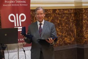 Elismerés Matskási Istvánnak a magyar múzeumügy fejlesztéséért