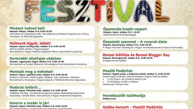 Állatszeretet Fesztivál 2013: Magyar Rovartani Társaság és a Magyar Természettudományi Múzeum közös programja - Összetett szemmel